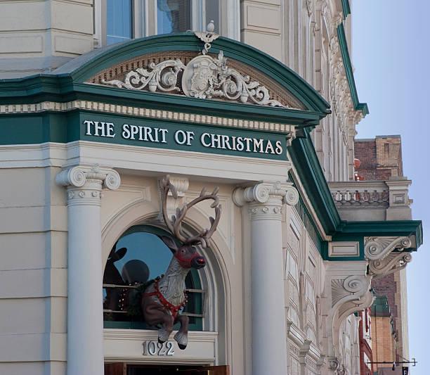 Navidad almacenar en Victoria, Canadá - foto de stock
