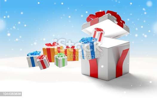 istock christmas surprise box christmas background 3d-illustration presents 1044083838