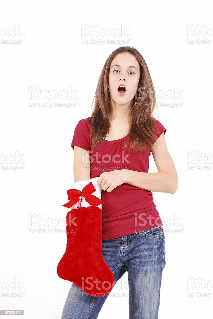 Christmas surprises royalty-free stock photo