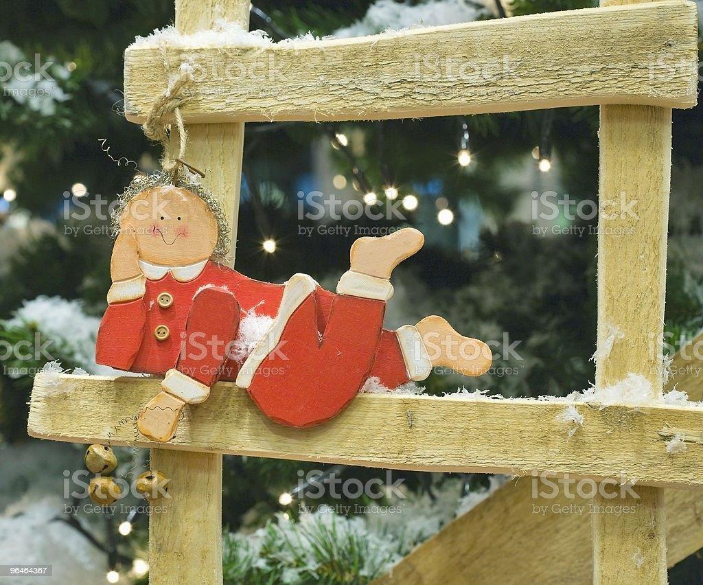 Christmas \t dwarf royalty-free stock photo