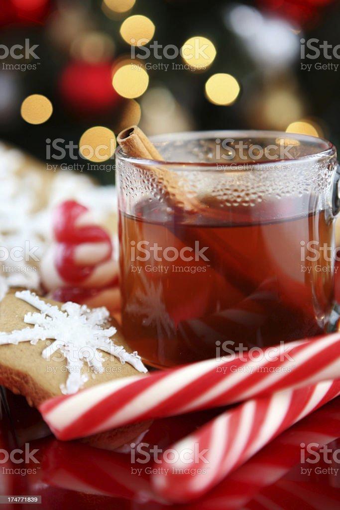 christmas table royalty-free stock photo