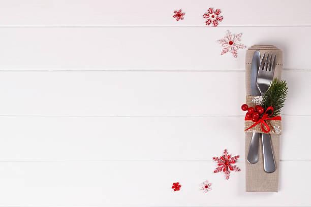 Weihnachten Tabelle Einstellung  – Foto