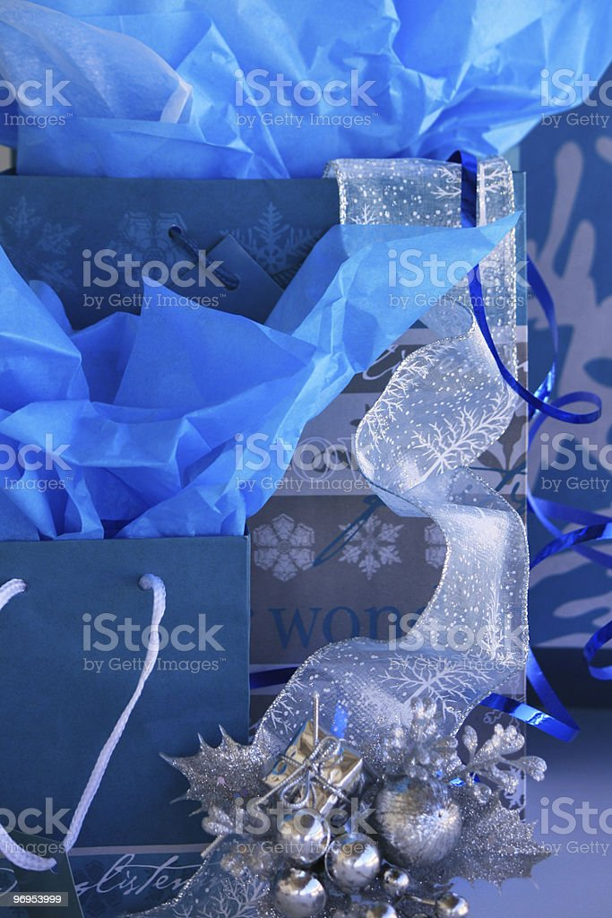 Christmas Teal royalty-free stock photo