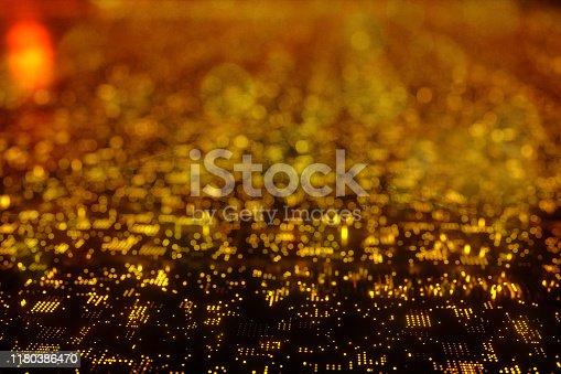 1067810314 istock photo Christmas technology background 1180386470