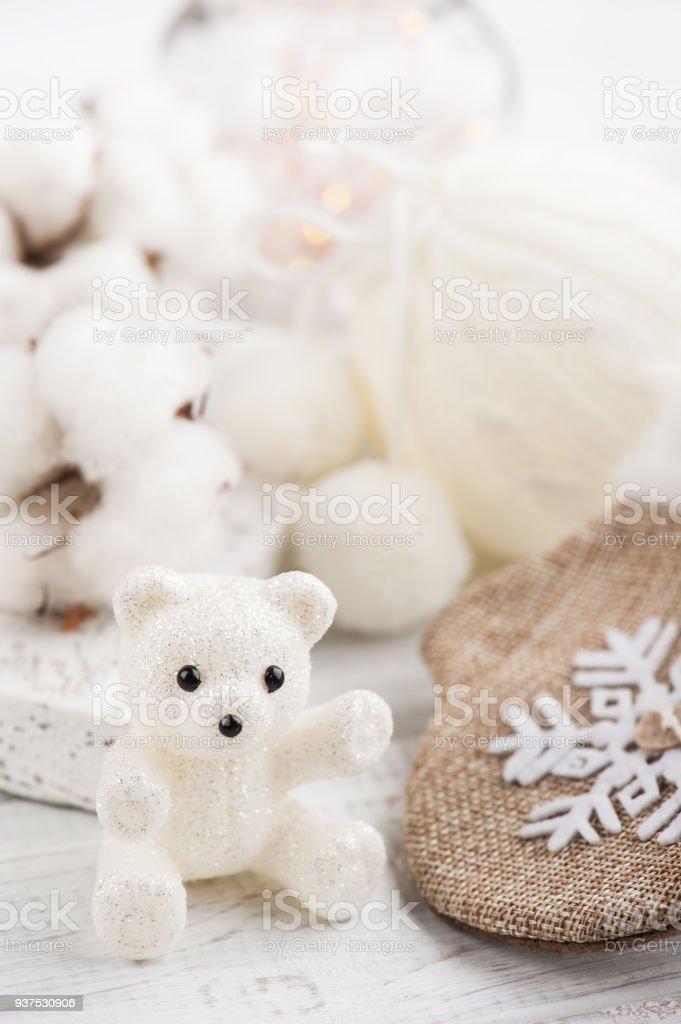 Teddy Weihnachten.Weihnachten Teddy Bear Dekoration Stockfoto Und Mehr Bilder Von