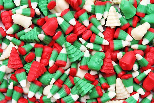 christmas candy corn pictures images and stock photos - Christmas Candy Corn
