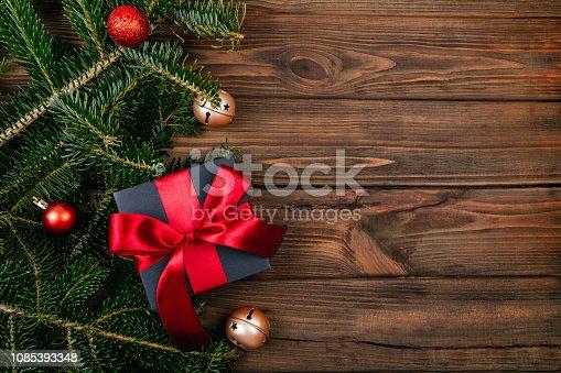 istock Christmas theme flatlay 1085393348