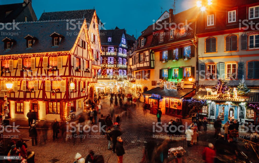 Temps de Noël à Colmar, Alsace, France - Photo