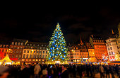 istock Christmas time in Strasbourg City, Alsace, France 840846146
