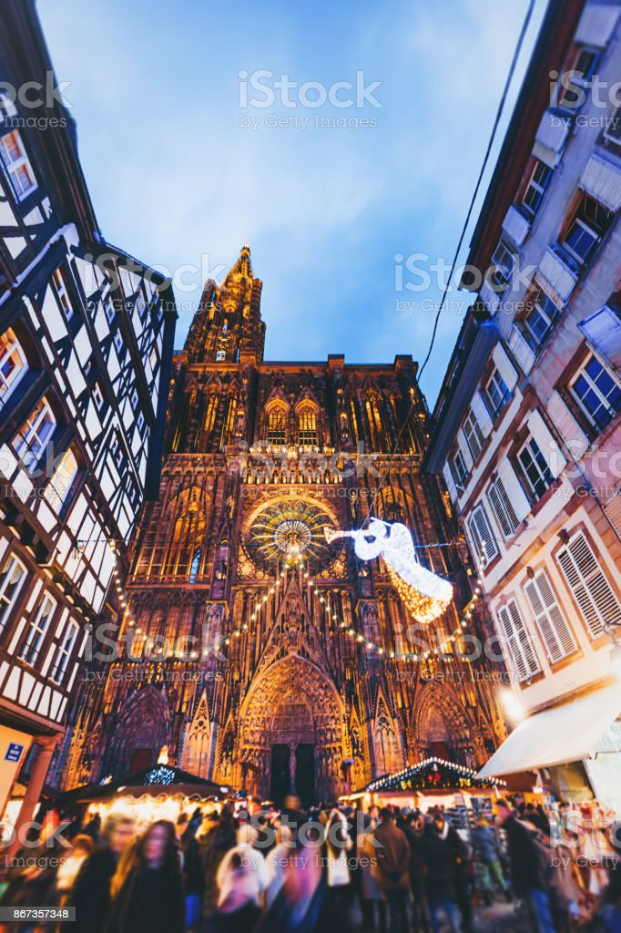 Strasbourg France Christmas Time.Christmas Time In Strasbourg France Stock Photo More