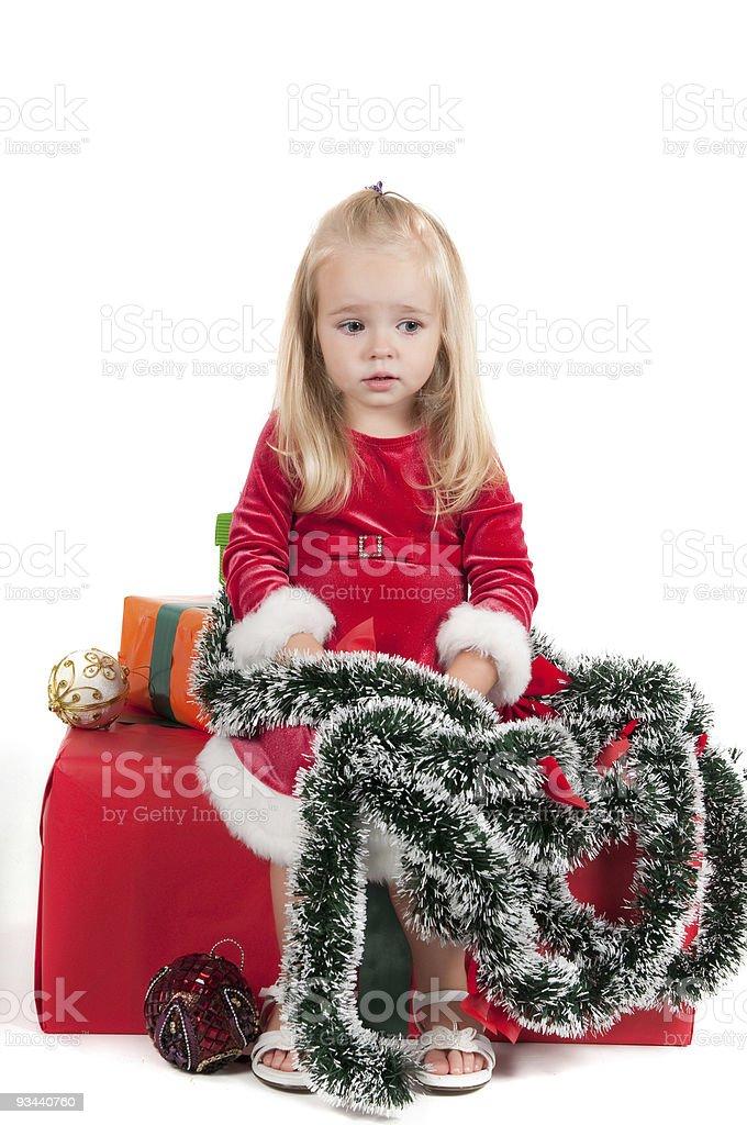 Weihnachten für Kleinkinder Lizenzfreies stock-foto