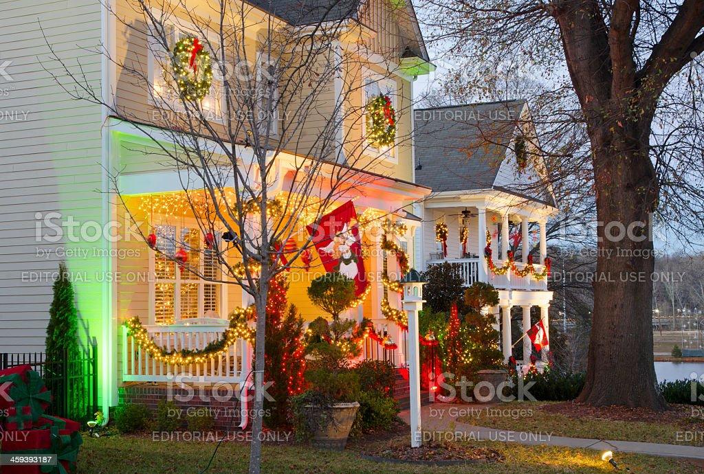 Christmas Town Usa.Christmas Town Usa Stock Photo Download Image Now Istock