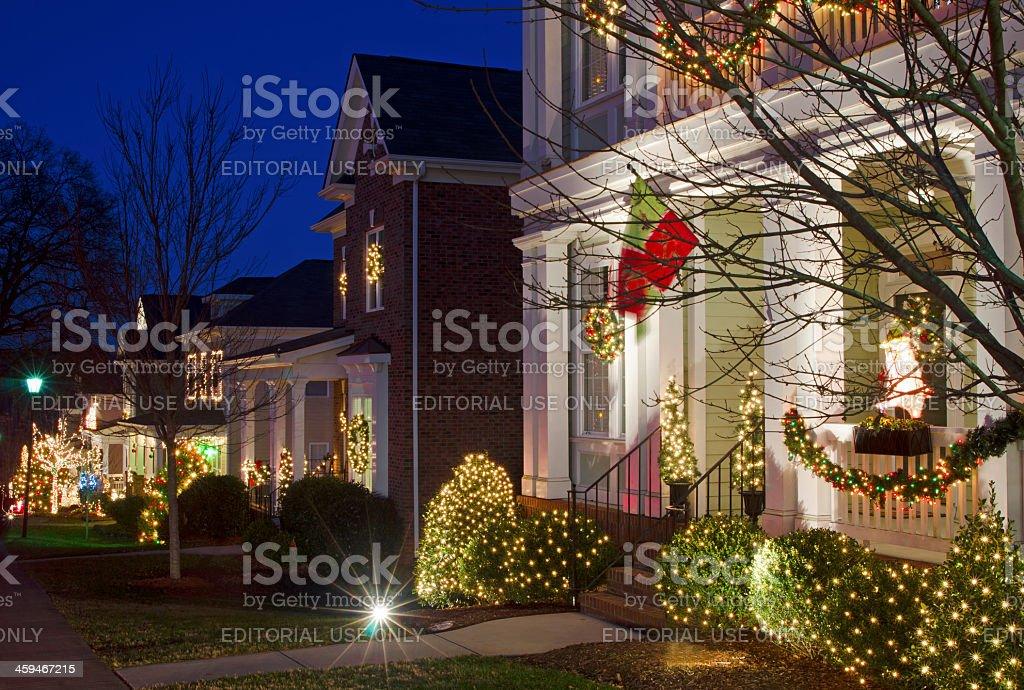 Christmas Town, USA royalty-free stock photo
