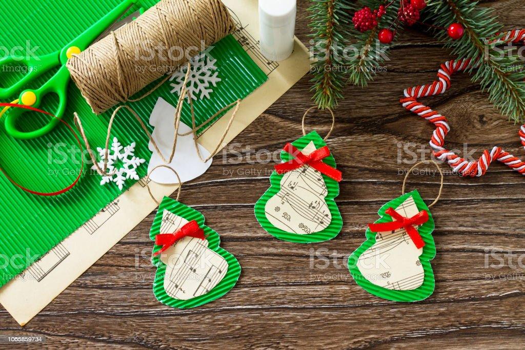 Weihnachten Spielzeug Geschenk Tannenbaum Handgefertigt