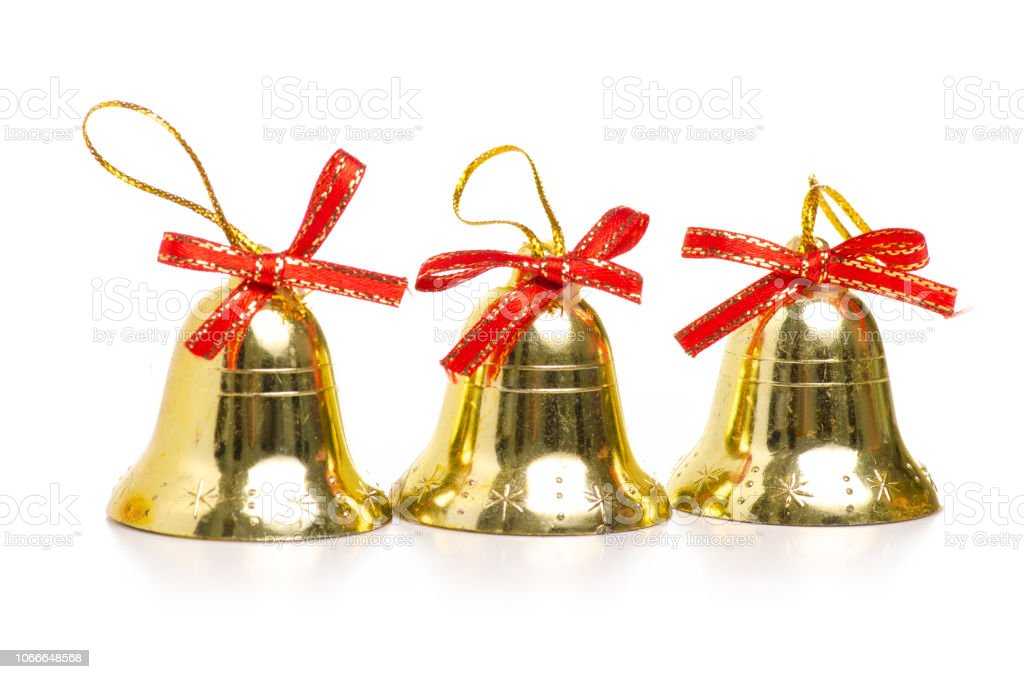 Christmas Toys Bells In Hand Stock Photo Download Image Now Istock