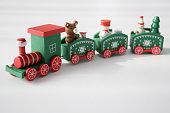 istock Christmas train 1270678810