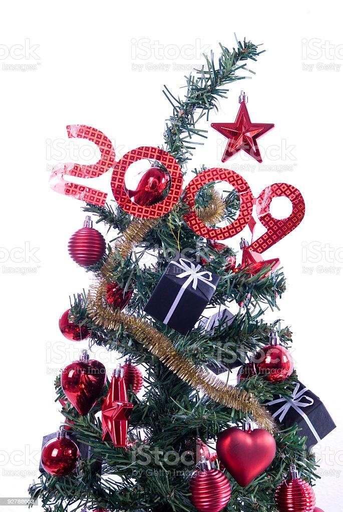 christmas tree 2009 royalty-free stock photo