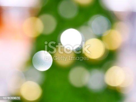 istock Christmas Tree and bokeh 1078099620