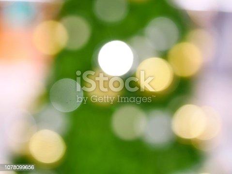 istock Christmas Tree and bokeh 1078099656