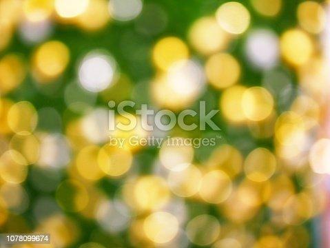 istock Christmas Tree and bokeh 1078099674