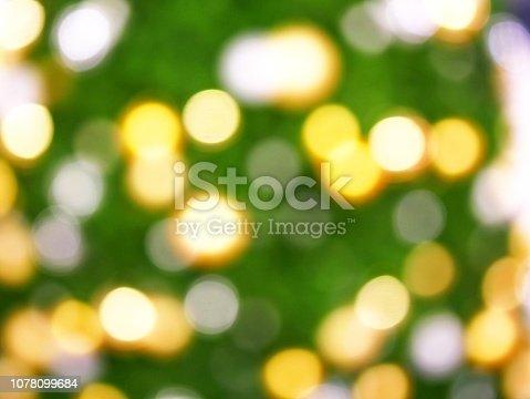 istock Christmas Tree and bokeh 1078099684