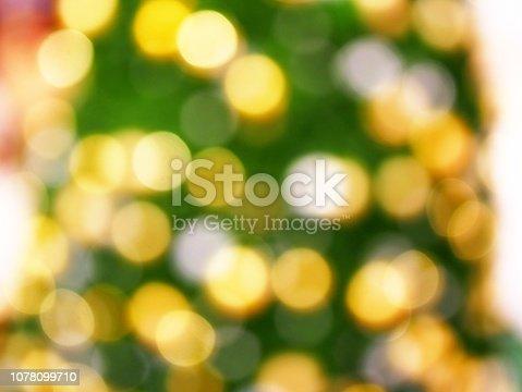 istock Christmas Tree and bokeh 1078099710