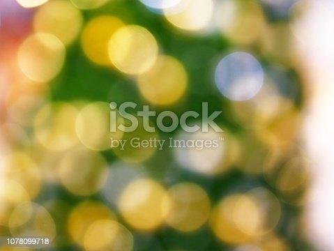 istock Christmas Tree and bokeh 1078099718
