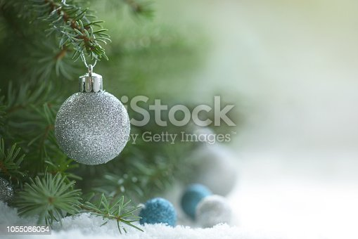 Christmas tree and Christmas decoration
