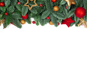 istock Christmas tree and decor 1272823683