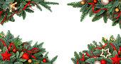 istock Christmas tree and decor 1285993984