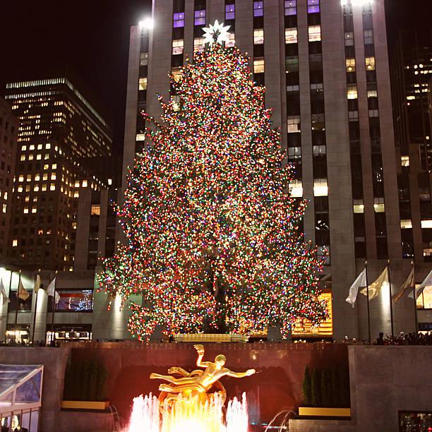 Best Rockefeller Center Christmas Tree Stock Photos