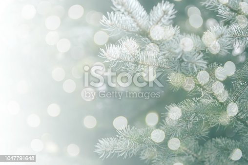 istock Christmas tree background 1047791648