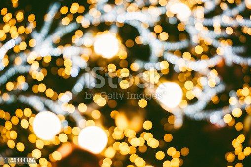 istock Christmas tree background 1158444156