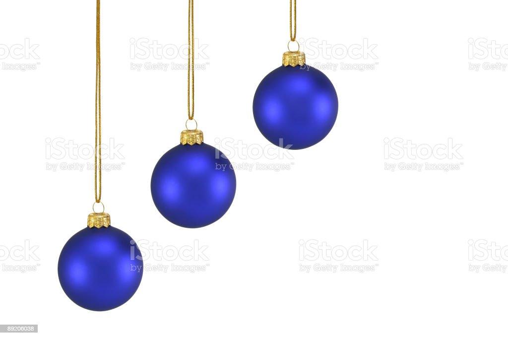 Christmas tree balls royalty-free stock photo