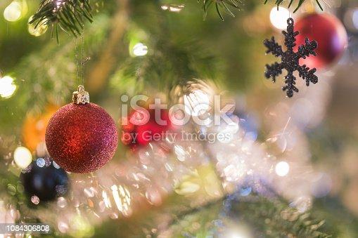 istock Christmas tree close-up details 1084306808