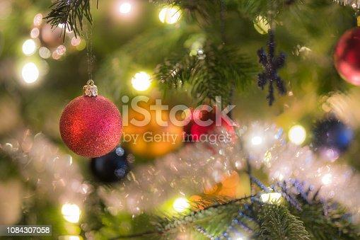 istock Christmas tree close-up details 1084307058