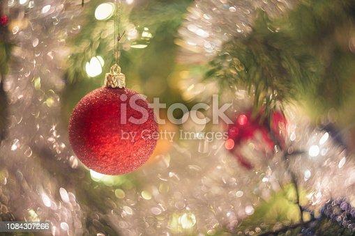 istock Christmas tree close-up details 1084307266