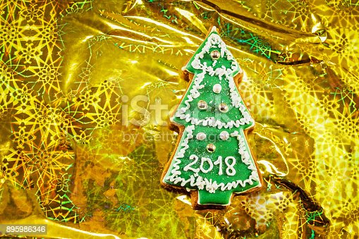 1056829102 istock photo Christmas tree cookies 895986346
