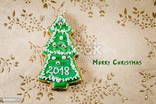 1056829102 istock photo Christmas tree cookies 895986414