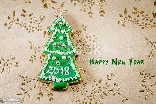1056829102 istock photo Christmas tree cookies 895986434