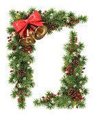 istock Christmas tree corner. 517517015