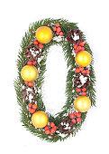 istock NUMBER 0 - Christmas tree decoration 152998262