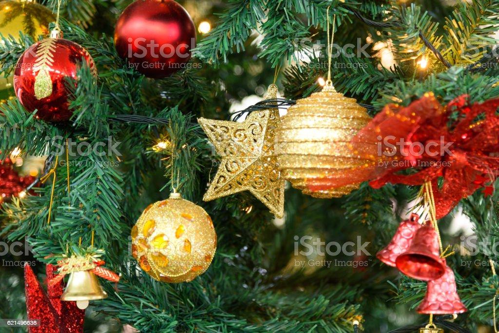 Arbre de Noël décoration photo libre de droits