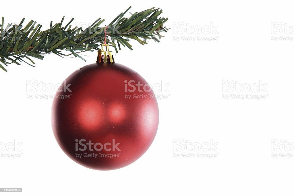 Christmas tree decoration royalty-free stock photo
