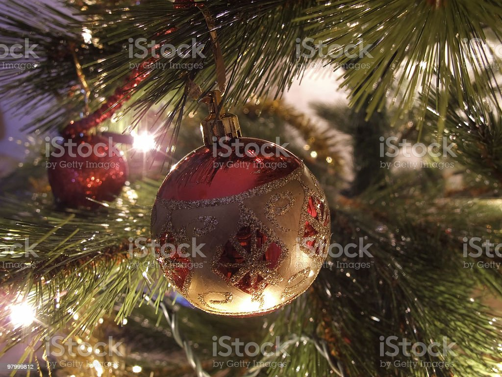 Christmas Tree Decoration royalty-free stock photo