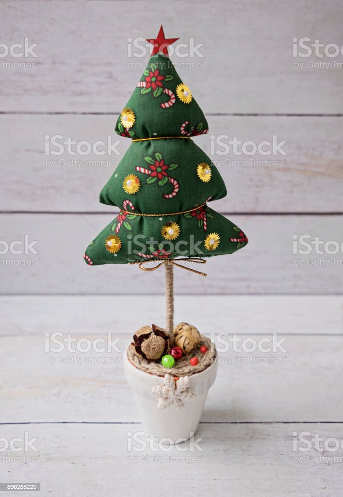 Christmas Tree Decorations On White Xmas Ornament Vintage Styles Stock Photo Download Image Now Istock