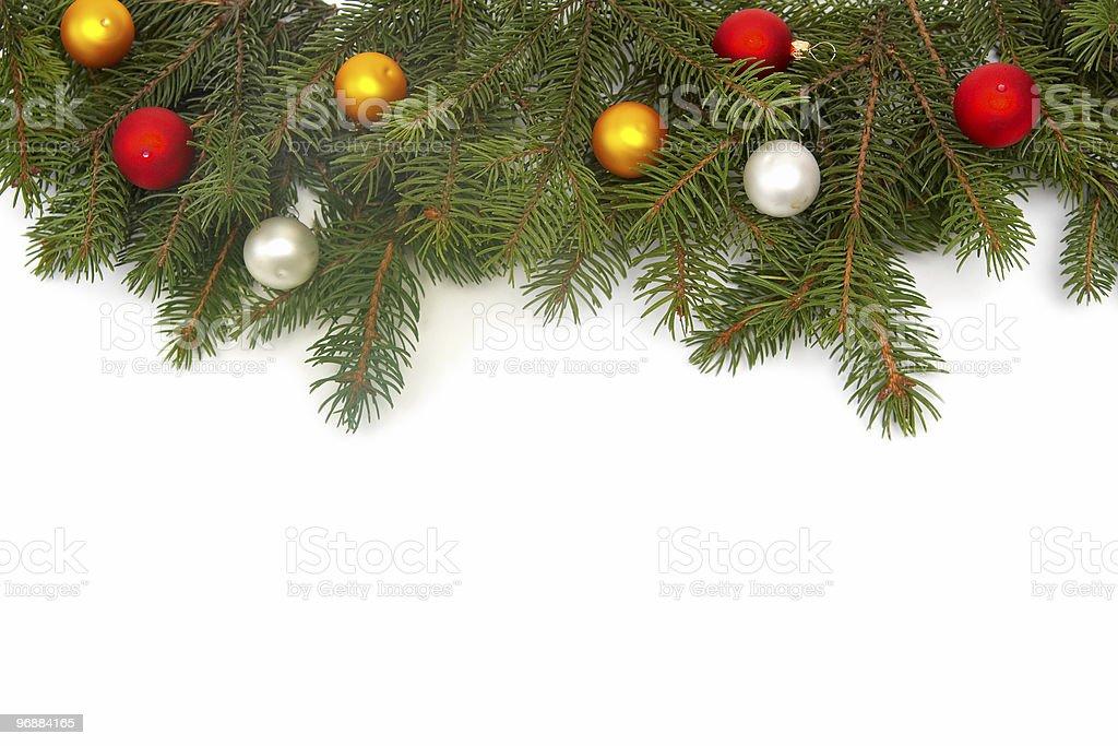 Weihnachtsbaum Dekoration Lizenzfreies stock-foto