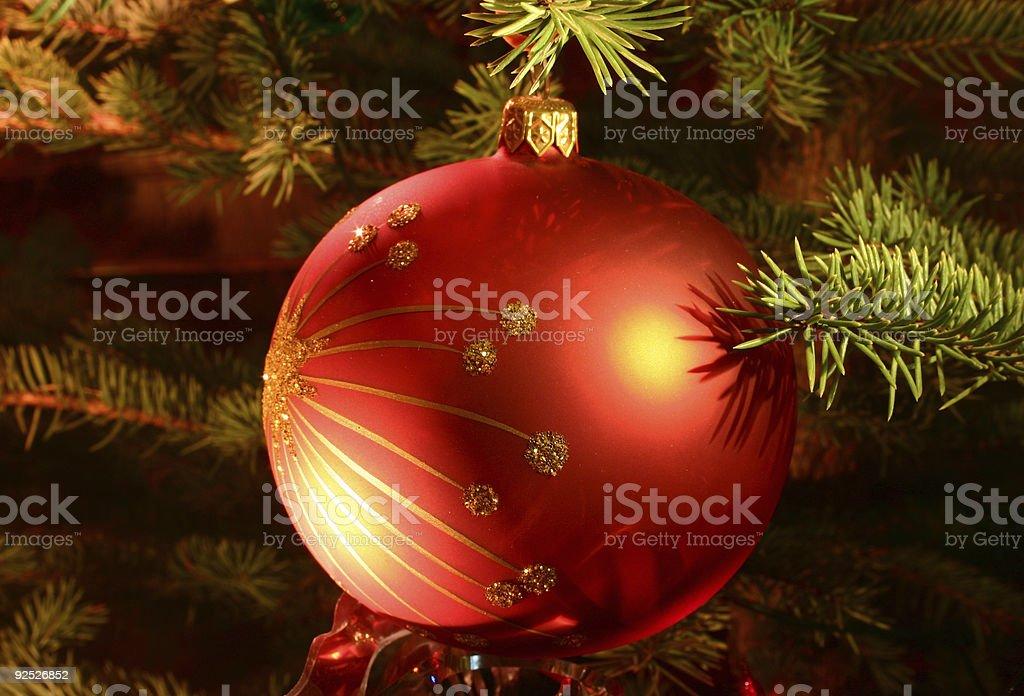 christmas tree details royalty-free stock photo