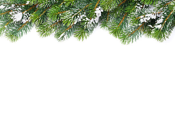 Christmas Tree Frame Background stock photo 618420284   iStock