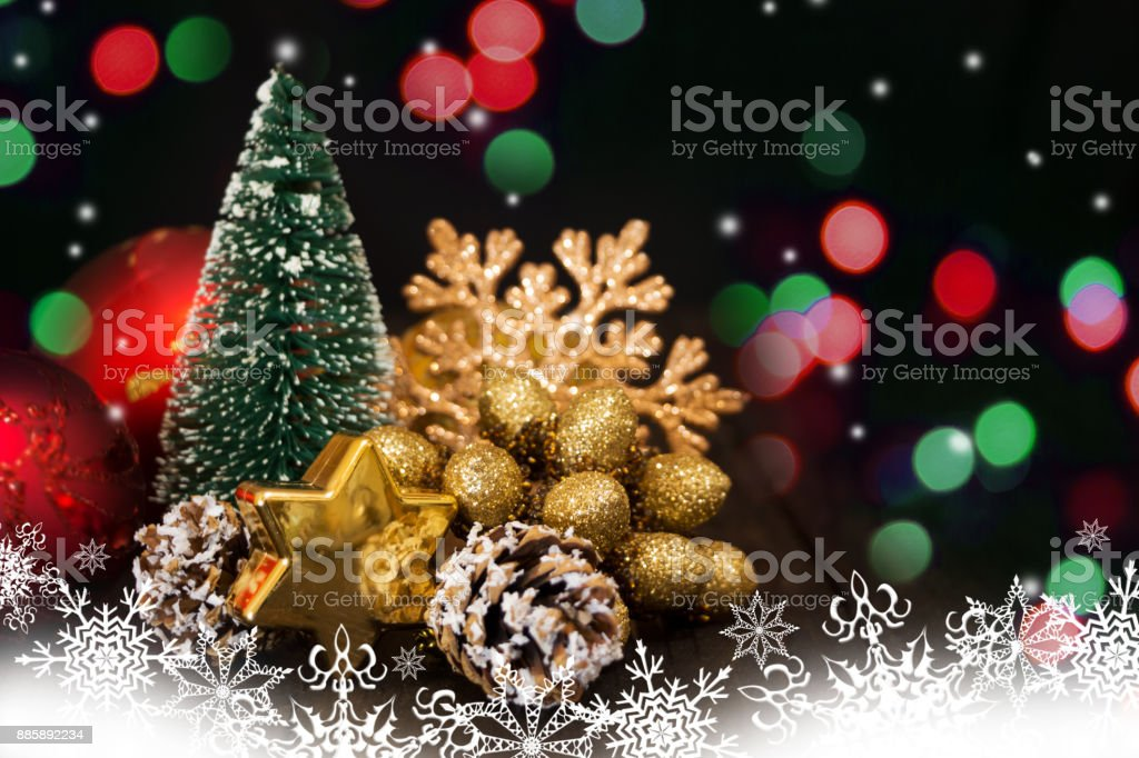 white christmas tree with red and green lights